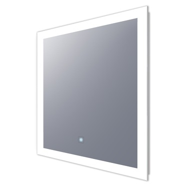 370x370 Silhouette Rectangle Lighted Mirror By Electric Mirror Sil 2436