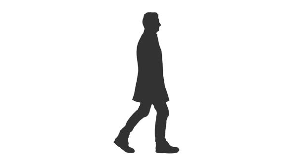 590x332 Silhouette Of A Male Walks On Transparent Background By Mgpremier