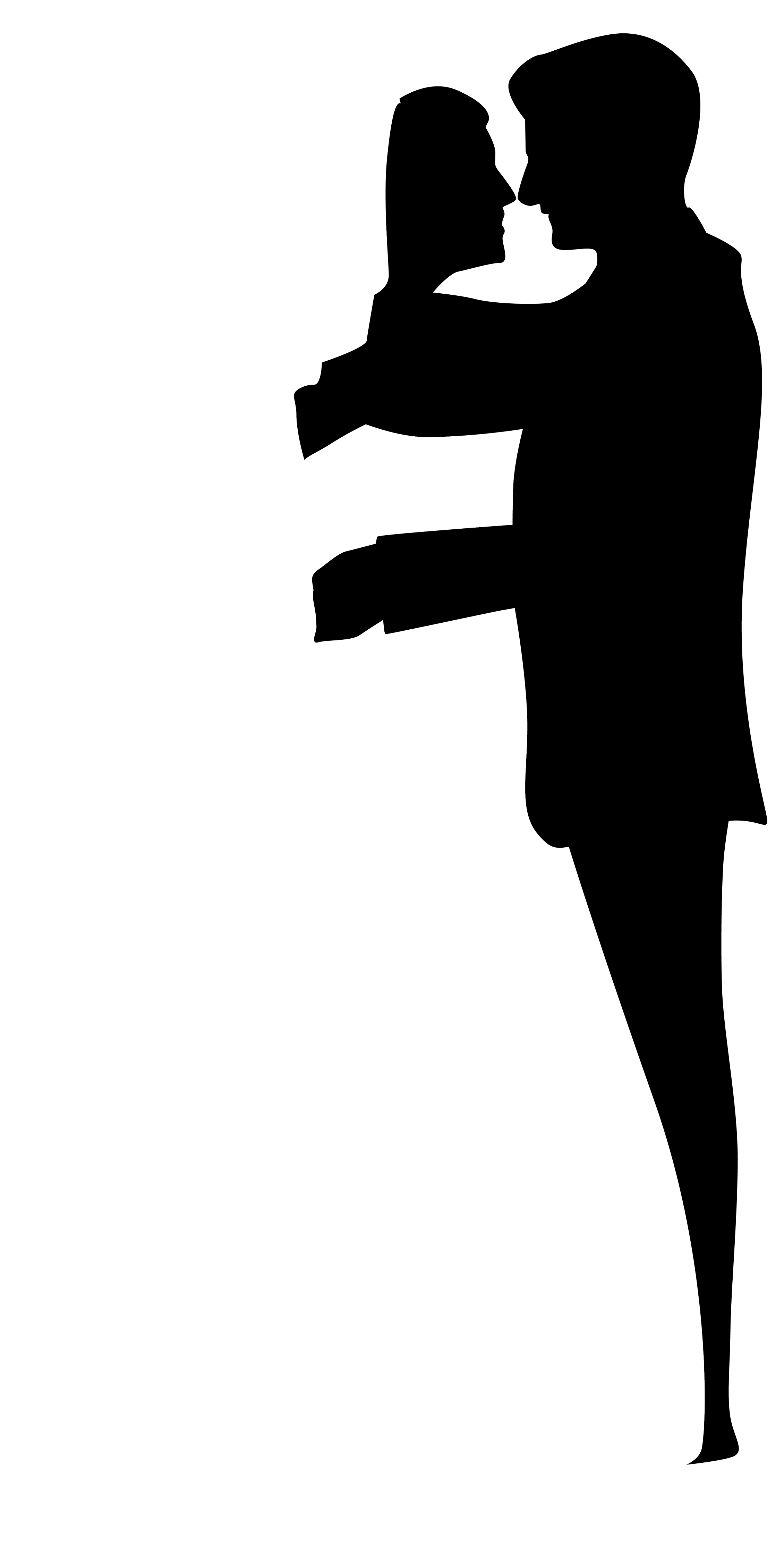 2260x4500 Wedding Couple Silhouettes Clip Art