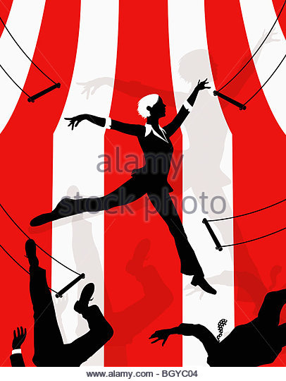 406x540 Trapeze Artist Mid Air Falling Stock Photos Amp Trapeze Artist Mid