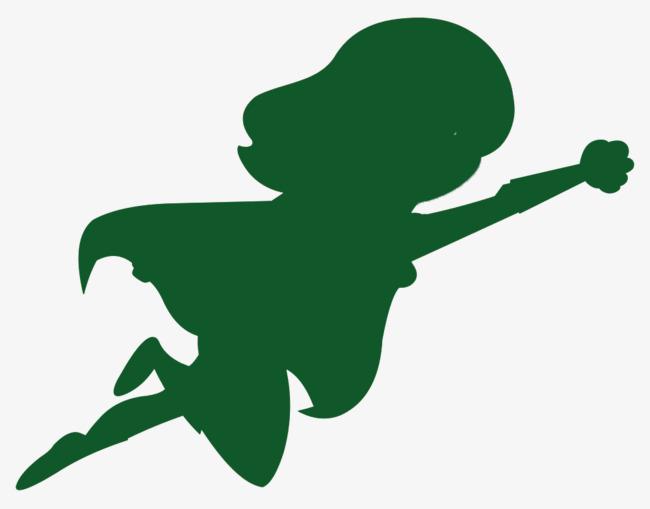 650x509 Trapeze Silhouette Decoration Green Cartoon, Green, Trapeze