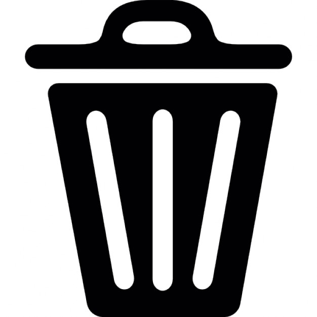 626x626 Unopened Trash Can Icons Free Download