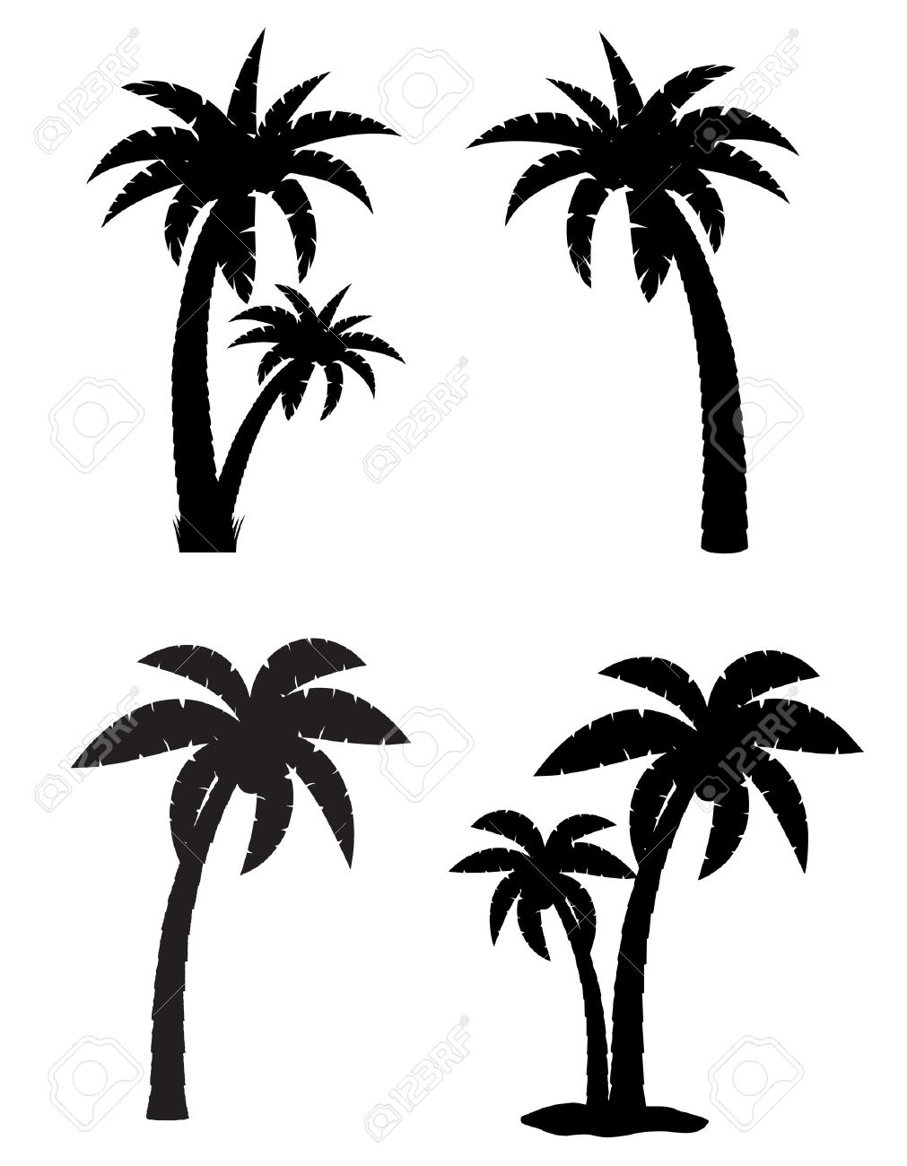 1011x1300 Travel Amp World Palm Silhouette Big Island Wallpapers (Desktop
