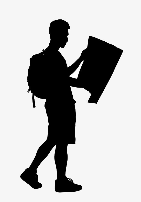 551x791 Travelers Silhouette Png Material, Traveler, Backpackers