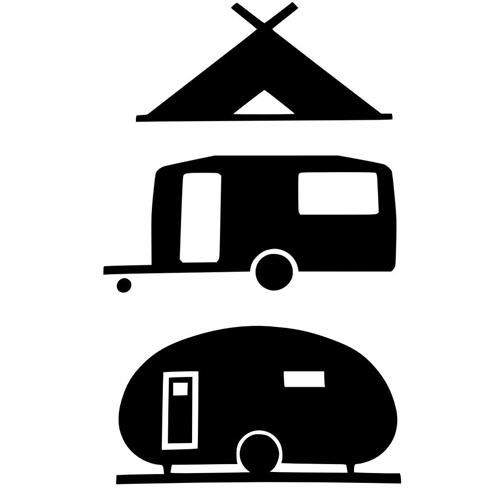 Travel Trailer Silhouette