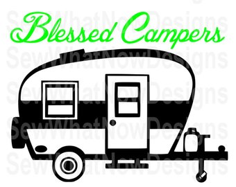340x270 Camper Silhouette Etsy