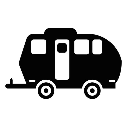Travel Trailer Silhouette At Getdrawings Com Free For Personal Use Rh