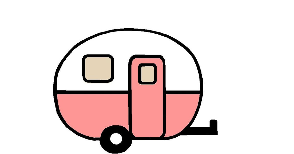 Travel Trailer Silhouette At Getdrawings Com Free For Personal Use Rh Vintage Camper Clip Art Glamper