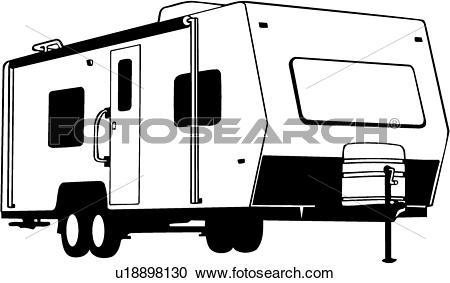 450x283 Camper Clipart Motorhome