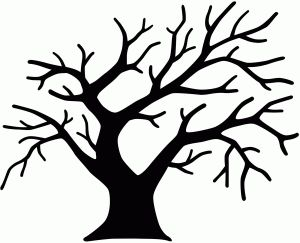 300x243 488 Best Silhouettes Tree Silhouettes Images