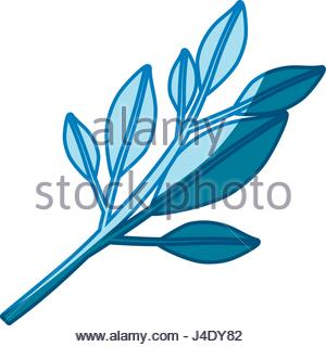 300x320 Vector Tree Branch And Foliage Silhouette Stock Vector Art