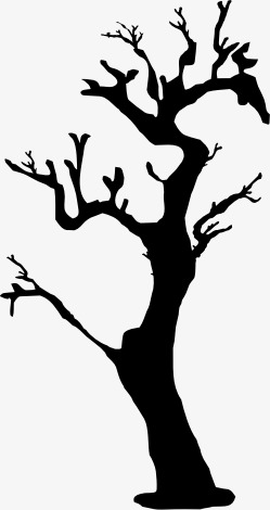 249x470 Silhouette Tree, Trees, Branches, Sketch Png Image And Clipart