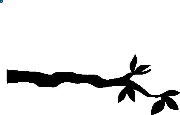 600x384 Silhouette Tree Branch Clip Art