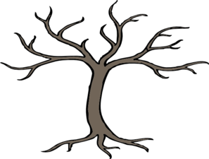 297x225 Tree With 3 Branches Clip Art