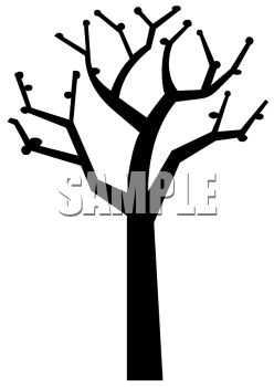 248x350 Tree Branches Outline Clip Art