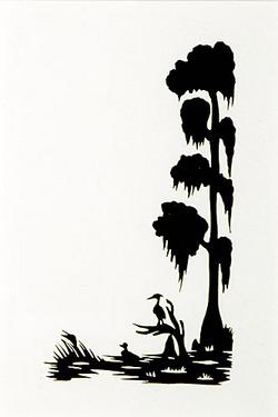 250x375 Cypress Tree Silhouette Clip Art