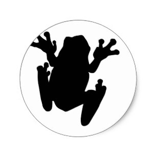 307x307 Tree Frog Silhouette Gifts On Zazzle