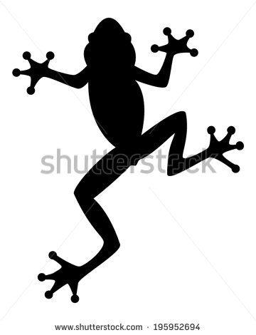 360x470 Stock Vector Frog Silhouette 195952694.jpg Frog
