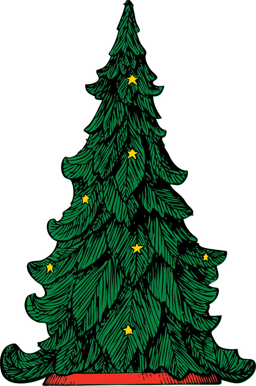 849x1280 Liberal Evergreen Tree Outline Line Silhouette Embroidery