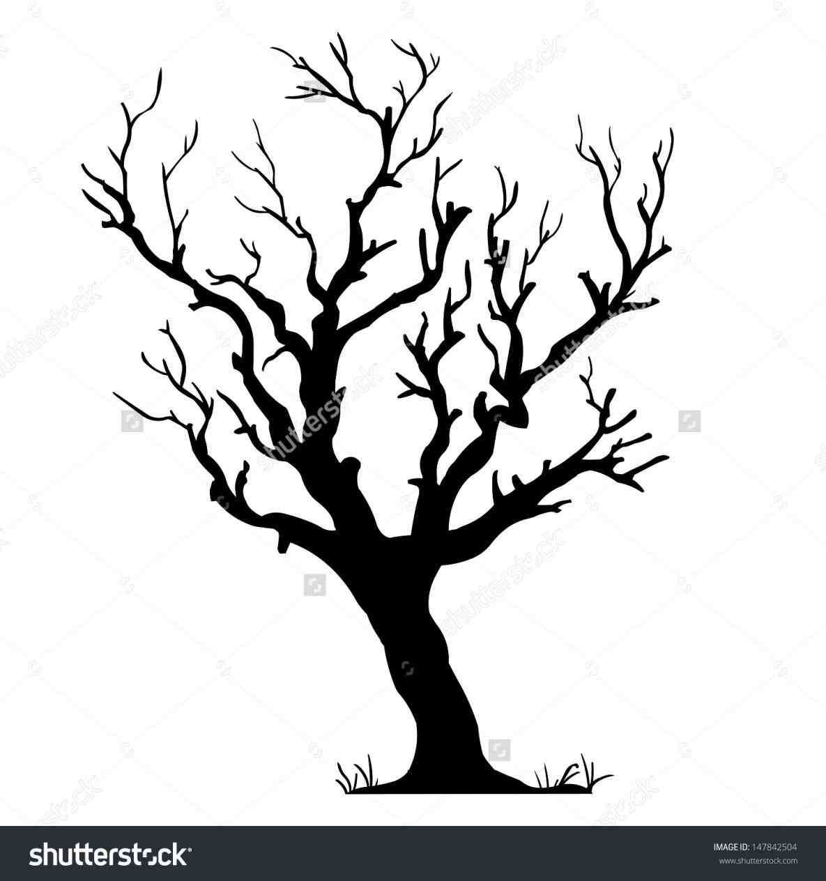 1185x1264 Leafless Tree Line Drawing Lazer Cnc Ideas Wood
