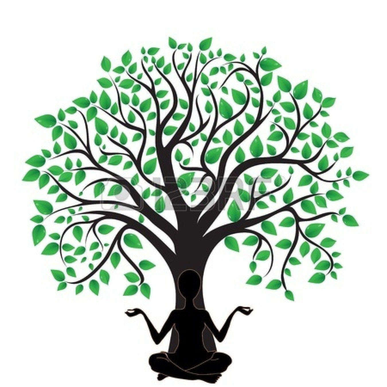 1350x1350 Oak Tree Silhouette Logo Clipart Panda Free Clipart Images Trees