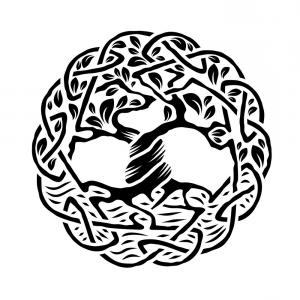 300x300 Tree Of Life Silhouette Ai Eps Png Arenawp
