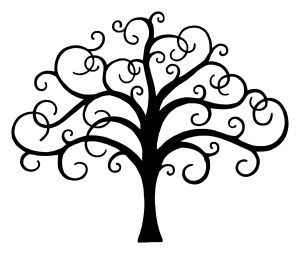 300x254 Tree Of Life Tattoo Cricut, Stenciling And Silhouettes