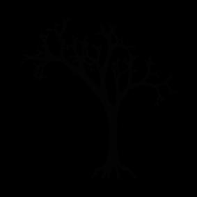 283x283 Dead Tree Silhouette Silhouette Of Dead Tree