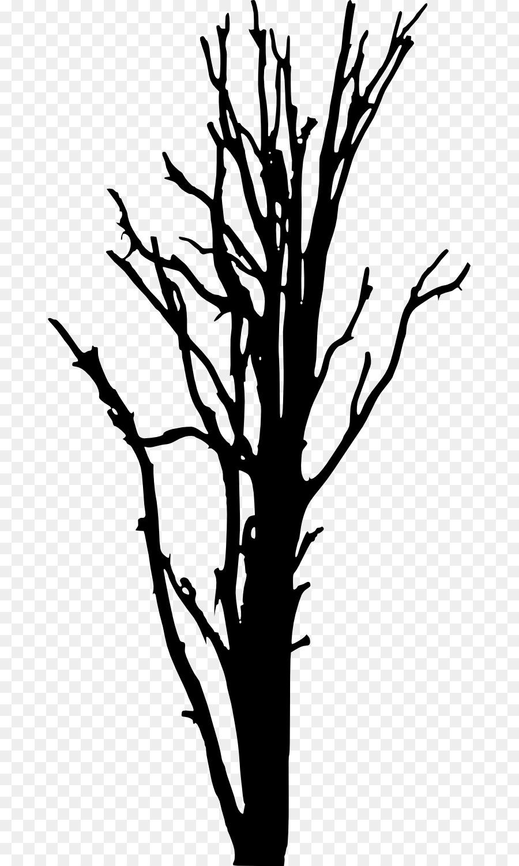 900x1500 Woody Plant Tree Silhouette Clip Art