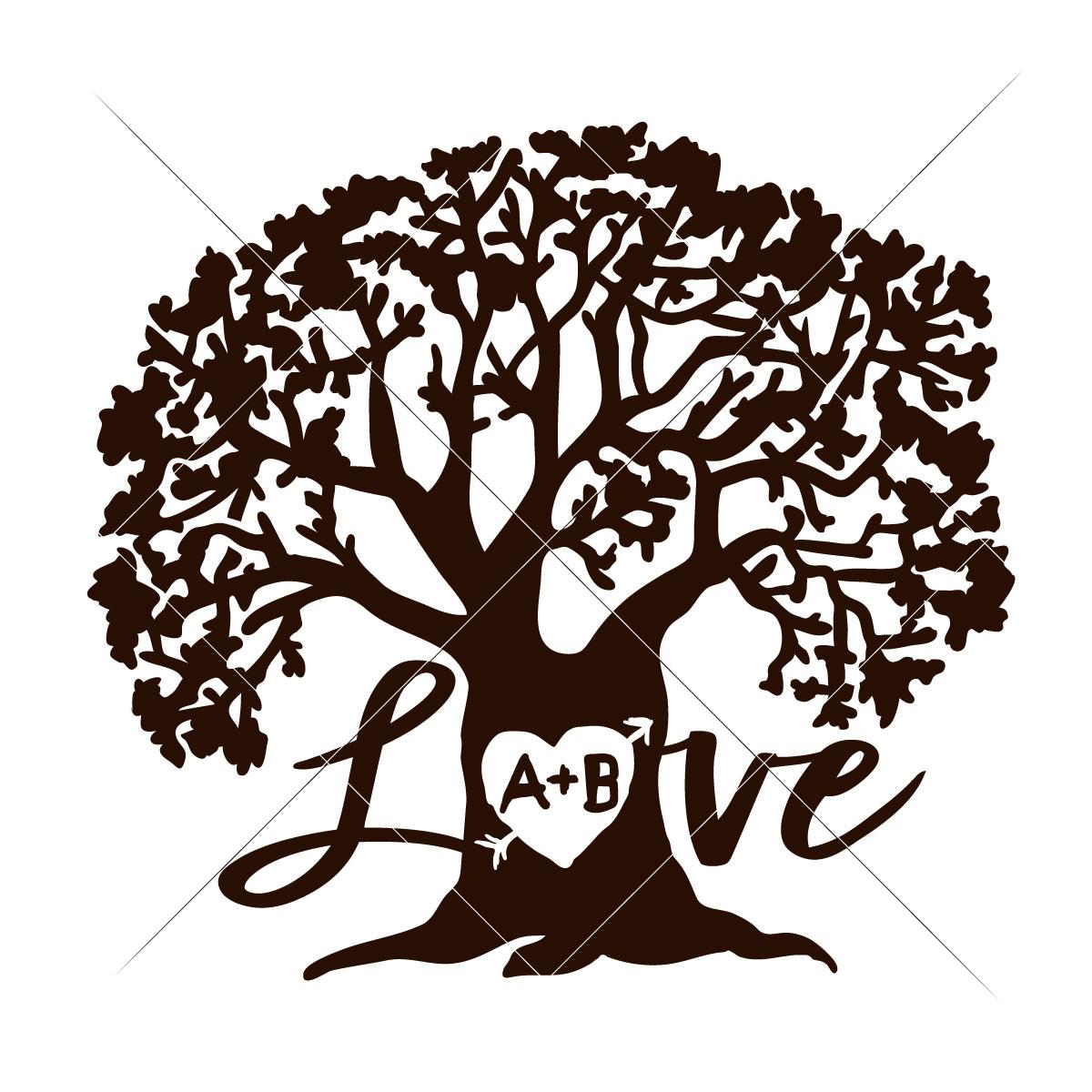 1200x1200 Love Tree