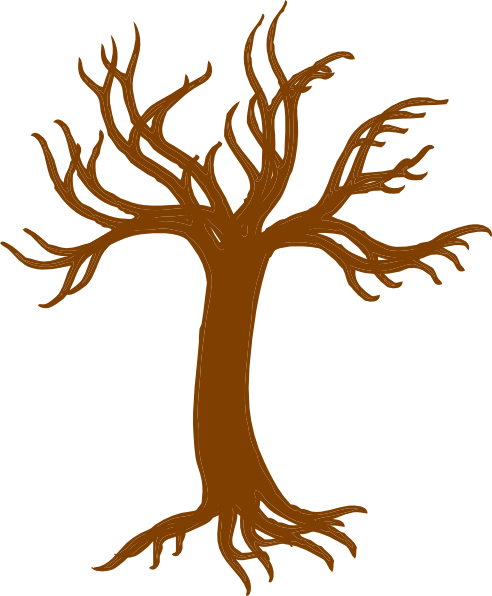 492x596 Tree Roots Larger Clip Art