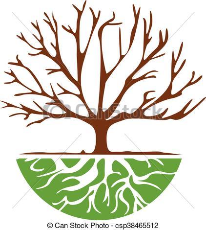 422x470 Vector Design Of Tree Root Vector Clip Art