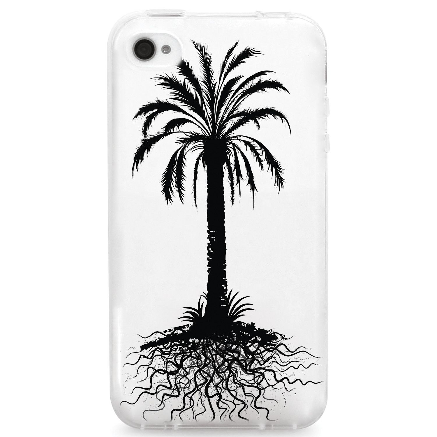 1500x1500 Floral Summer Palm Tree Roots Silhouette Products