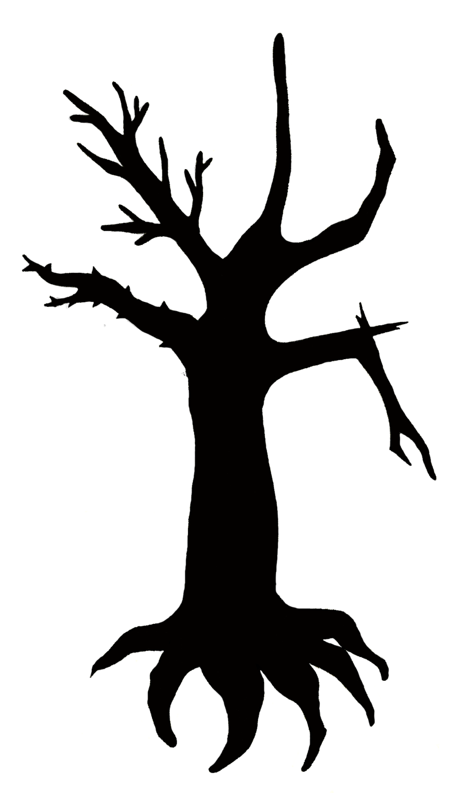 900x1561 Tattoo Design Outline Two Tree Silhouette By Princesssnuzzlenut