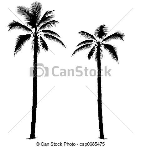 450x470 Palm Tree Silhouette 1