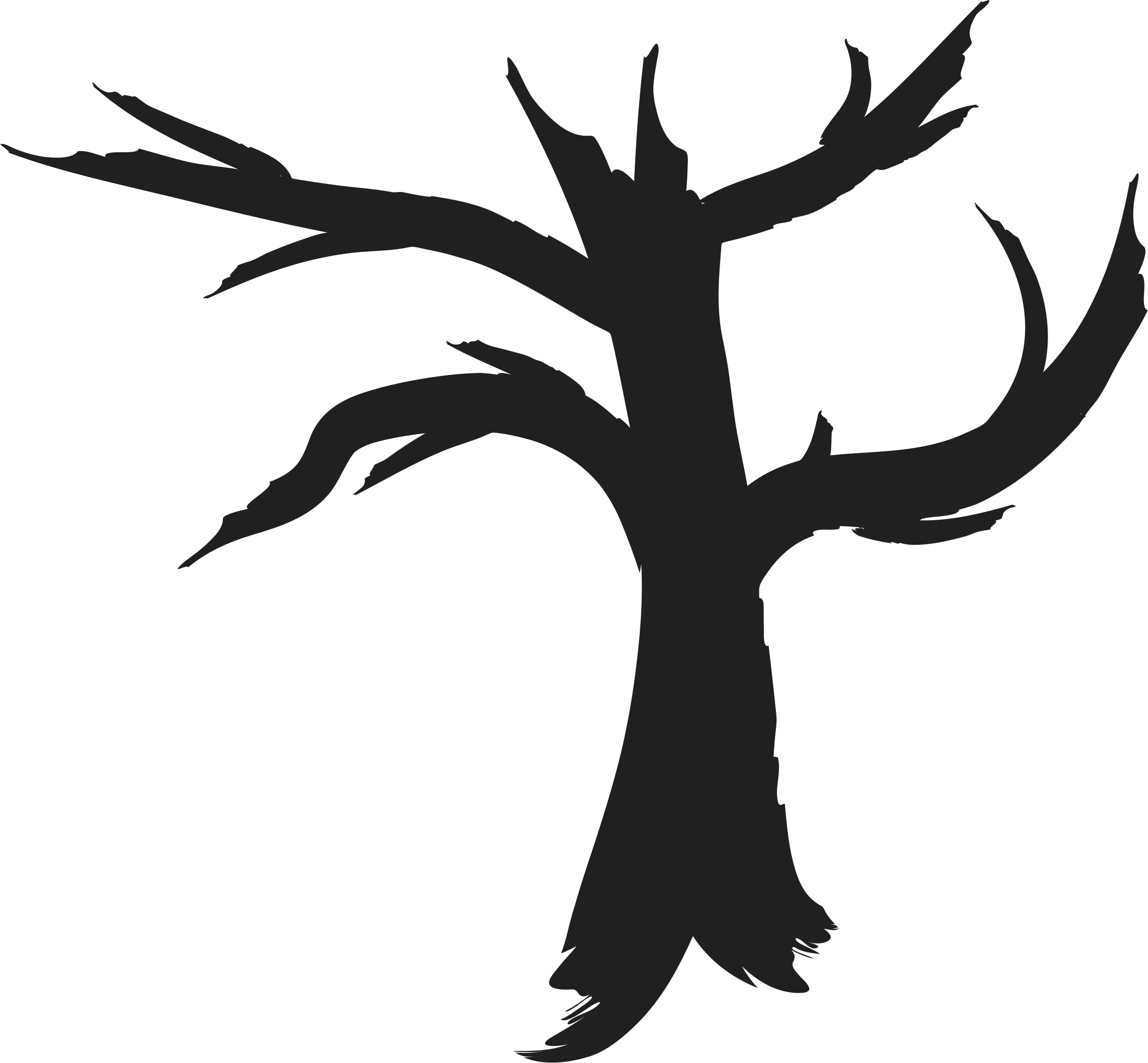 2286x2115 Dead Tree Silhouette Icons Png