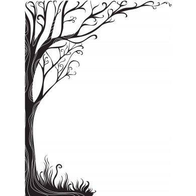 390x390 1382 Best Tree Silhouettes Vectors Clipart Svg Templates