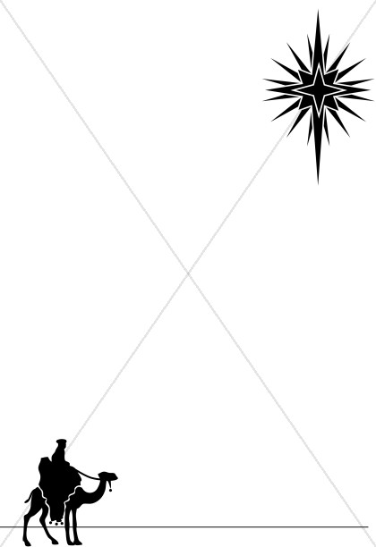 420x612 Christmas Tree Border Christian Borders