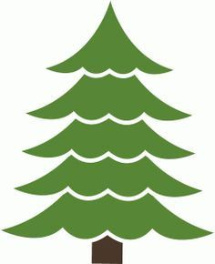236x290 Christmas Treetree Silhouette Cut File. Svg File Is Included. You