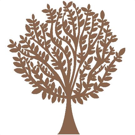 432x432 Tree Silhouette Svg Scrapbook Cuts Tree Svg Cut File Tree Svg Cut