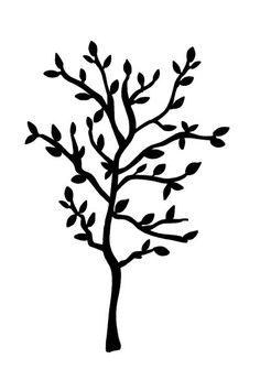 236x345 Tree Silhouette Svg File Tree Silhouette, Silhouette Files