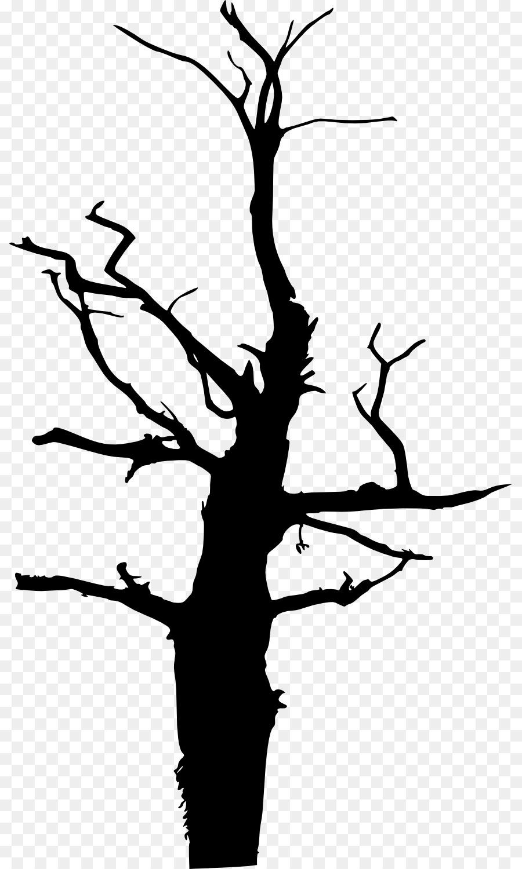 900x1500 Tree Silhouette Clip Art