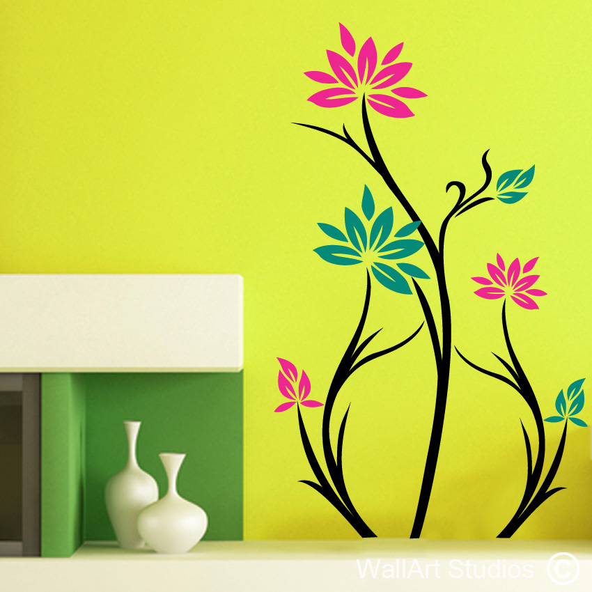 Tree Silhouette On Wall at GetDrawings.com | Free for personal use ...