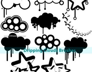 320x250 Mineral amp Sky PS Brushes Photoshop Free Brushes Download