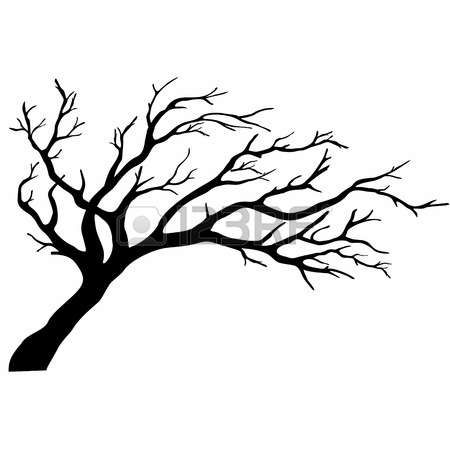 450x450 Tree Silhouettes Photo Metal Tree Artwork Tree