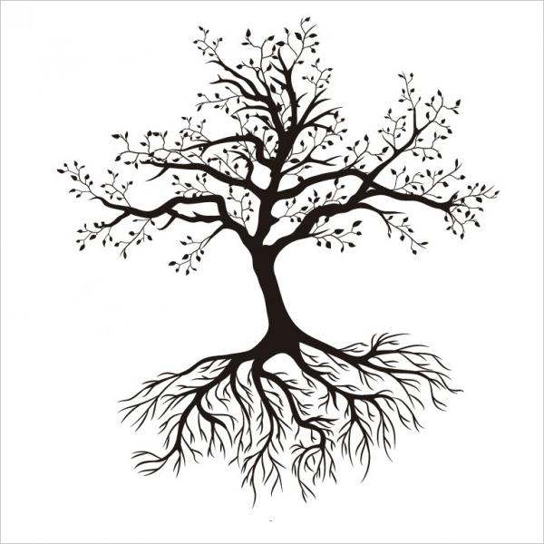 600x600 Tree Silhouettes