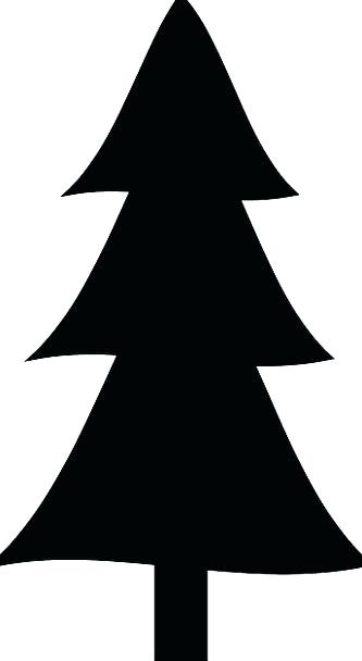 333x608 Simple Tree Silhouette Stock Images Royalty Free Images Vectors