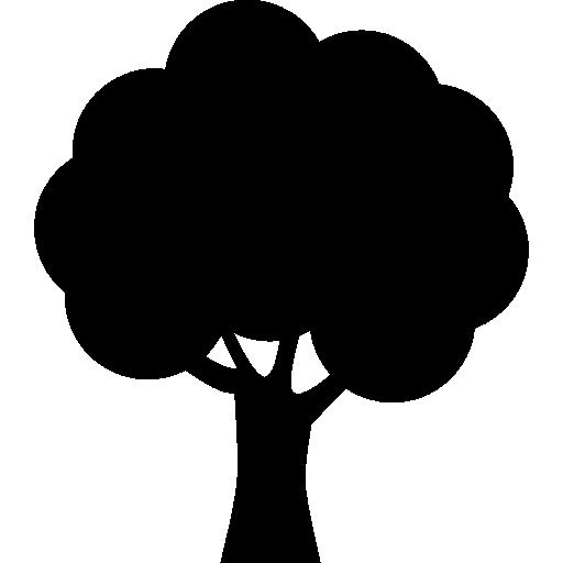 512x512 Tree Silhouette