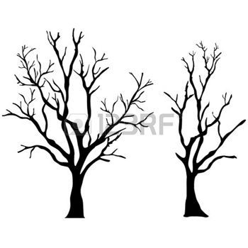 350x350 Vector Tree Silhouette Photo Bloggingweb Design