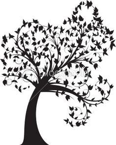 236x294 Bare Tree Silhouette Clipart StencilsMasks 2 Pinterest
